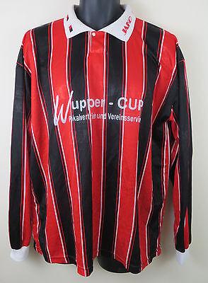 Vtg JAKO Football Shirt Retro Soccer Jersey Red Skjorte Trikot 90s Camiseta XXL