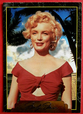 """""""Sports Time Inc."""" MARILYN MONROE Card # 117 individual card, issued in 1995"""