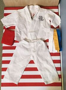 Karate outfit for her American girl dolls