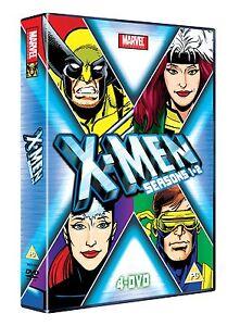 X-Men xmen x men Seasons 1 & 2 4 x DVD Set marvel orginals DVD ANIMATED