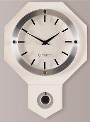 Antique Vintage Wooden Wall Clock Retro Style Modern Pendulum Clock - MW162WH