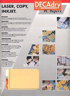 Bankett Themen Papiere 25 A4 Seiten Schreibpapier 80gms (Bankett-themen)
