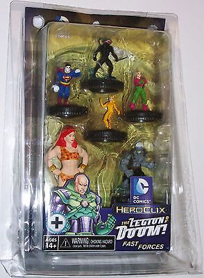 THE LEGION OF DOOM FAST FORCES PACK Superman and Legion Superheroes DC HeroClix
