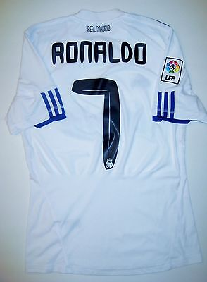 Real Madrid Cristiano Ronaldo Nike Kit Jersey 2010 Manchester United Portugal