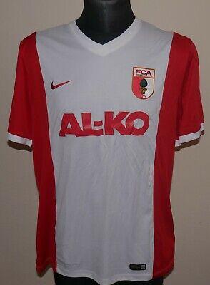 FC Augsburg Heim Trikot 2014/15 NIKE Home Shirt Jersey Camiseta (L) GERMANY image