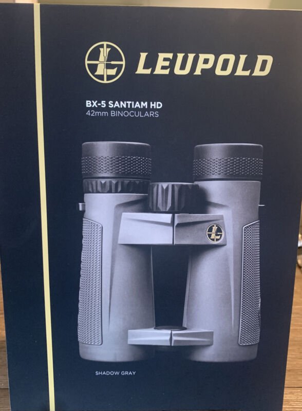 Leupold BX-5 Santiam HD - Shadow Gray 10x42mm Binoculars