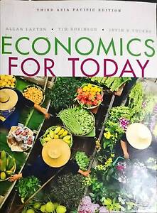 Allan Layton - Economics For Today 3rd Asia Pacific ED Maroubra Eastern Suburbs Preview
