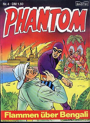 Phantom Nr.4 von 1974 - Z1-2 BASTEI KRIMI COMIC-HEFT Lee Falk