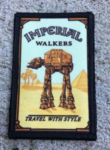 Star Wars Imperial Walker Morale Patch Funny Tactical Military USA  Army
