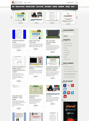 Clickbank Affiliate Store Website Fully Autopilot And Customizable Auto Update