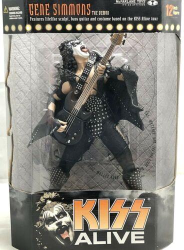 "KISS ALIVE GENE SIMMONS The Demon McFarlane Toys 12"" Action Figure - SEALED NIB!"