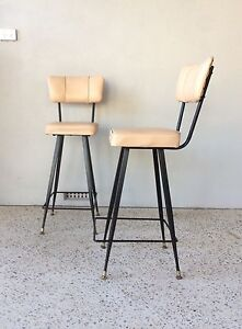 Vintage pair of retro bar stools Duncraig Joondalup Area Preview