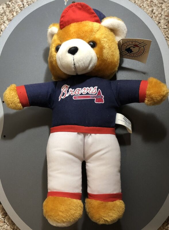 Vintage Steven Smith Atlanta Braves Plush Bear New W/tags