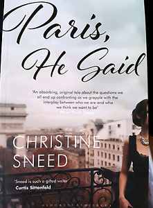 Paris He Said by Christine Sneed Non Friction Book Wakerley Brisbane South East Preview
