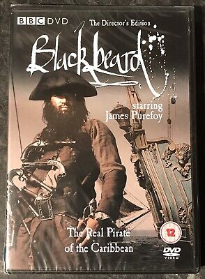 BLACKBEARD THE REAL PIRATE OF THE CARIBBEAN DVD SUPER RARE NEW & SEALED MINT