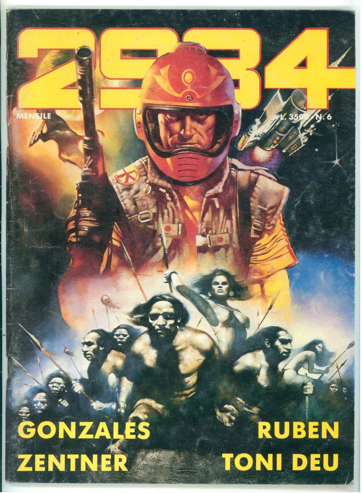 2984 PERIODICO MENSILE ANNO 1 NUMERO 6 LUGLIO 1986 NUOVA SERIE RIVISTE FUMETTI