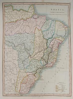 Brasilien Brazil Rio de Janeiro Sao Paulo Recife Uruguay la Plata Amazonas 1842