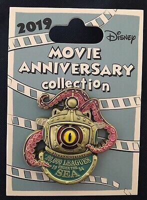 Disney Cast Exclusive 2019 Movie Anniversary 20,000 Leagues Under The Sea
