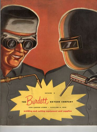 Vintage Burdox Welding/ Burdett Oxygen Company  Product Catalog Awesome Cover