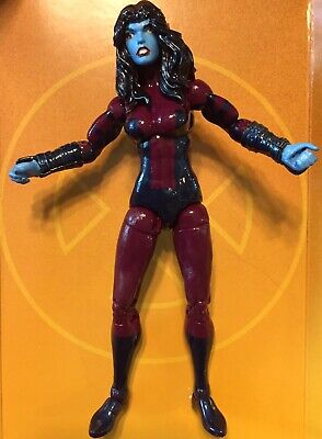 Marvel Legends Custom NEBULA - Ego Thanos Yondu Rogue Phoenix Polaris Captain