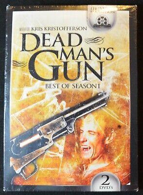 Dead Man's Gun: Best of Season 1 (DVD, 1997, 2-DVDS) Kris Kristofferson