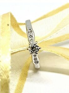 9ct White Gold Diamond Ring Revesby Bankstown Area Preview