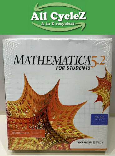 Mathematica 5.2 version 64-bit for Students support for all supported platform