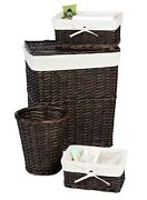 Rattan Laundry Hamper