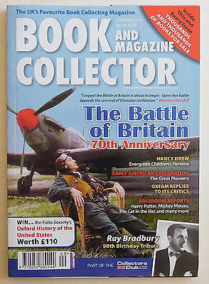 BOOK & MAGAZINE COLLECTOR #324 - 9/2010 - Ray Bradbury, Battle of Britain