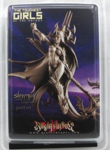 Raging Heroes 23073 Shiveryah Sorceress (Dark Elves Fantasy) Female Wizard Mage