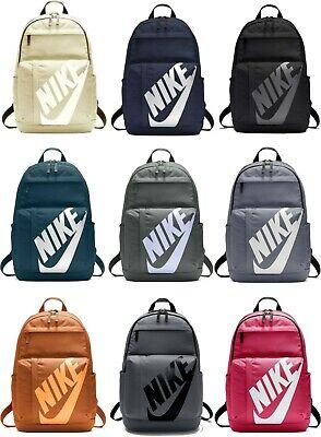 Nike Elemental Rucksack Backpack Unisex Sportswear Sport School Bag Gym Trip Men