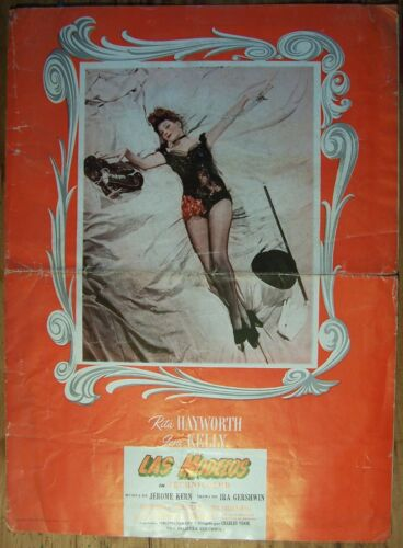 COVER GIRL, Rita Hayworth, Gene Kelly, 1944 Pressbook 397