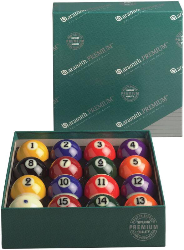 Genuine Belgian Aramith Premium Pool/Billiard Ball Set (Phenolic Resin)