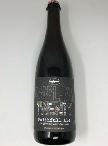 NEW sealed Dogfish Head Craft Brewery Pearl Jam Twenty Faithfull Ale Beer (2011)