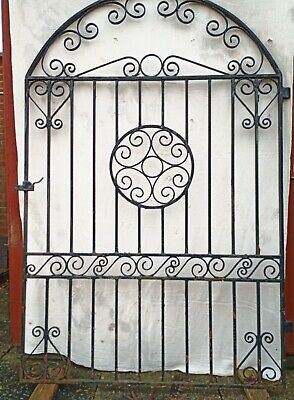 Antique Wrought Iron Gate. Late 19th/early 20thCen.6'6