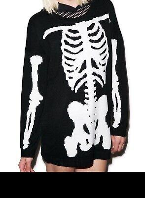 Iron Fist Wishbone Sweater New Sealed Size Medium Perfect For Halloween - Halloween Wishbone
