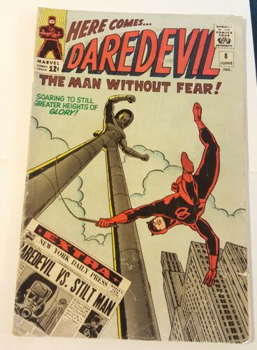 DAREDEVIL 8 Stan Lee, WALLY WOOD, 1st appearance of Stilt-Man