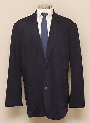 Mens 50L Lands' End The Outfitter Blue Blazer