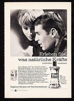 3w928/ Alte Reklame - von 1961 - VAC Haartonicum - OLIVIN Kosmetik