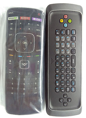 New Vizio Keyboard Xrt303 Xrt302 3D Remote With Mgo M3d470vse E550d A0 M601d B1