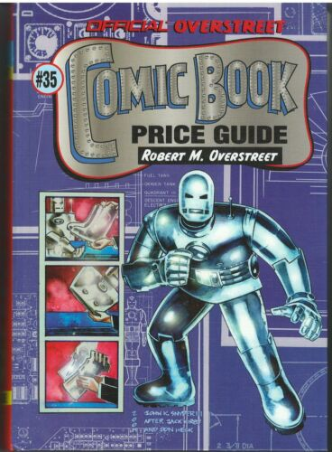 Overstreet Comic Book Price Guide #35 (2005)Hardcover John K Snyder Iron Man NM+