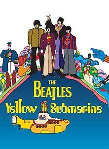 The-Beatles-Button-Badge-Yellow-Submarines-Rock-Music-Memorabilia