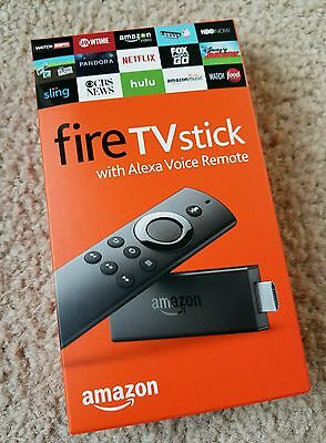 Amazon Fire TV Stick Voice Jailbroken Kodi 16.1 Fully Loaded TV Movie Sports XXX