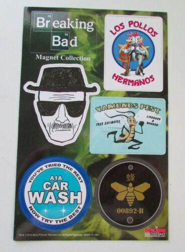 Breaking Bad Set of 6 Fridge Magnets Collection Los Pollos Hermanos Vamanos Pest