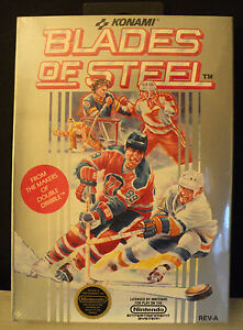 Blades of Steel (Nintendo NES) NEW SEALED BLACK SEAL SUPER RARE!