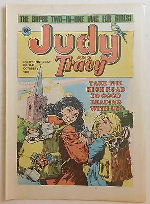 JUDY & TRACY Comic #1343 - 5th October 1985