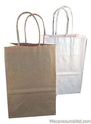 Kraft Paper Gift Party Bags Wedding Birthday -accessory Size Christmas Bags