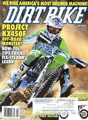 Dirt Bike Magazine May 2012 Project KX450F Off-Road Monster!