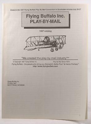 Flying Buffalo Play-By-Mail 1997 Catalog  Catalogs, Play By Mail Flying Buffalo (Catalogs By Mail)