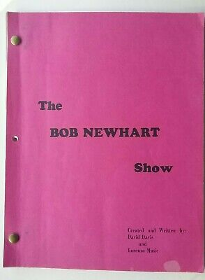 The Bob Newhart Show ORIGINAL Unaired TV Pilot Script
